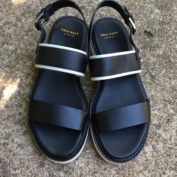 Cole Haan Shoes   Black Sandals   Poshmark